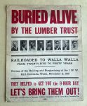(46053) Poster, Centralia Conspiracy, Fund Raisers, 1920s