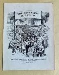 """(46059) Sheet Music, """"The Advancing Proletaire"""""""
