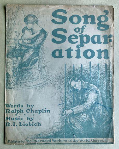 "(46060) Sheet Music, ""Songs of Separation"""