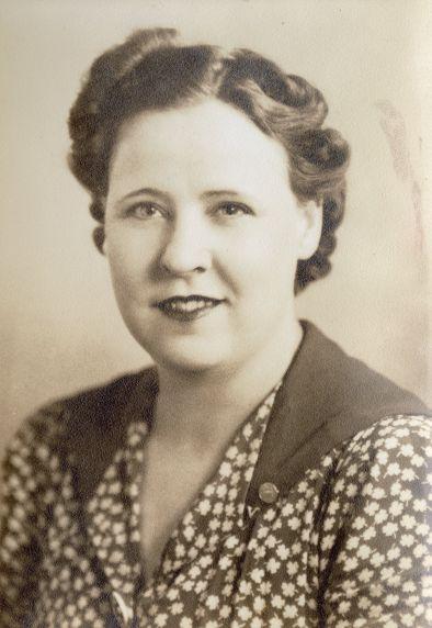 """(48493) Portraits, Catherine """"Babe"""" Gelles, 1940s"""
