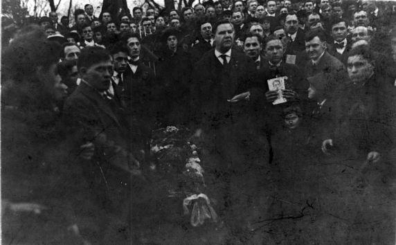 "(4850) William ""Big Bill"" Haywood, Oration, Funeral, 1910s"