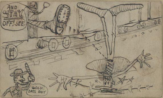 (4887) Joe Hill, Artwork