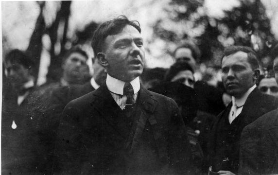 (4892) Joe Hill, Funeral, Chicago, 1915