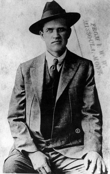 (4989) Portrait, Frank Little, 1910s