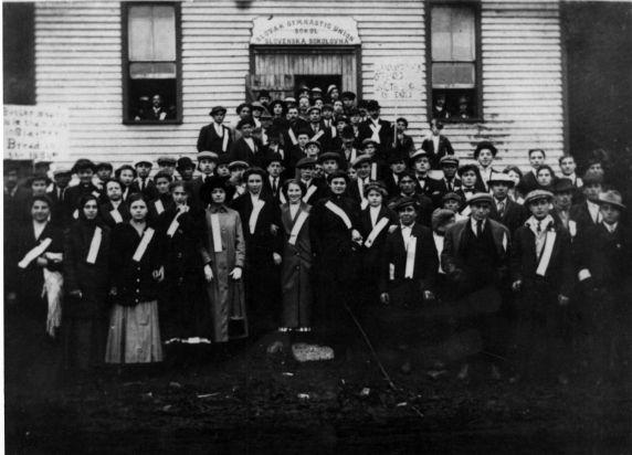 (4996) Little Falls Textile Strike, Slovak Hall, New York, 1912