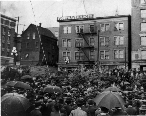 (5035) Lumber Industry, Everett Massacre, Elizabeth Gurley Flynn, Seattle, 1917