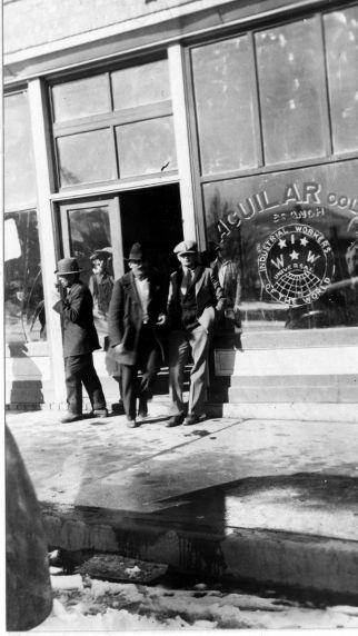 (5734) Colorado Coal Strike, Relief, Aguilar Hall, 1928