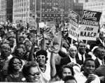 """(5906) Civil Rights, Demonstrations, """"March to Freedom,"""" Detroit, 1963"""