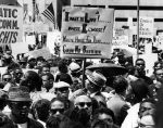 """(5908) Civil Rights, Demonstrations, """"March to Freedom,"""" Detroit, 1963"""