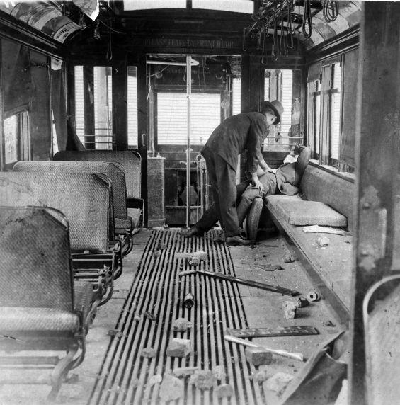 (6562) Strikes, San Francisco Street Car Strike, 1907
