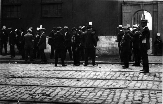 (6566) Strikes, New Jersey Oil Company Strike, Bayonne, New Jersey, 1915