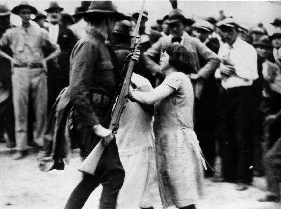 (6571) Strikes, Gastonia Textile Strike, North Carolina, 1929