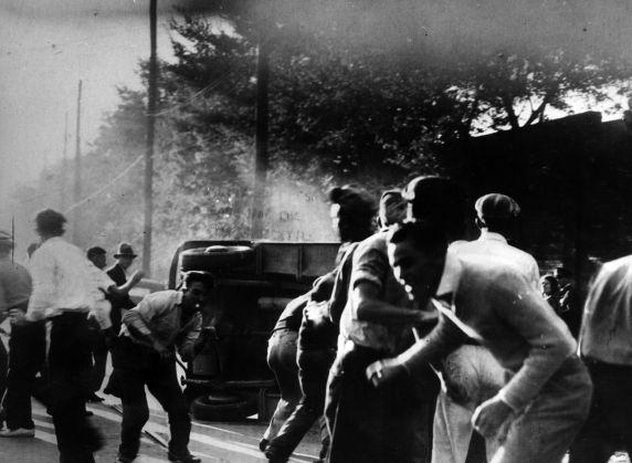 (6584) Strikes, Violence, Textile Workers, Macon, Georgia, 1934