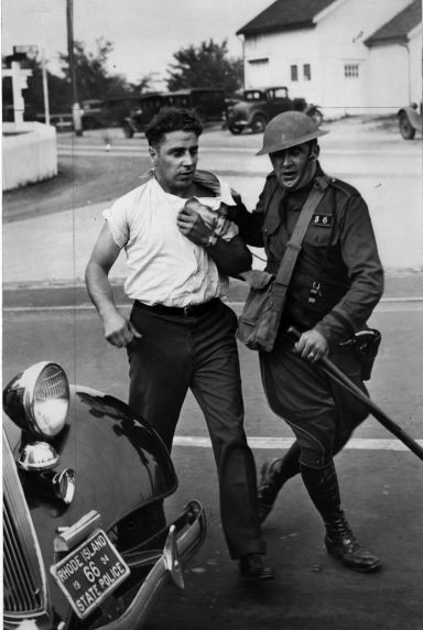 (6586) Strikes, Violence, Textile Workers, Saylesville, Rhode Island, 1934