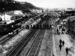 (6587) Strikes, Violence, Dock Workers, Seattle, Washington, 1934