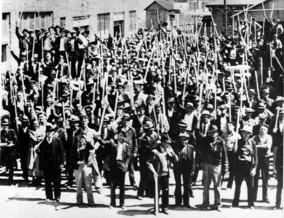 (6594) Strikes, Miners, Picker, Oklahoma, 1937