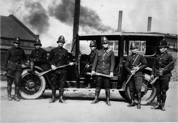 (6595) Strikes, Steel Workers, Farrell, Pennsylvania, 1919