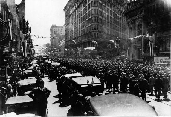 (6600) Strikes, Funerals, Maritime Workers, San Francisco, California, 1934