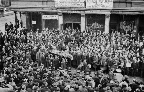 (6643) Joe Hill, Funeral, Chicago, 1915