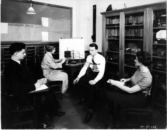 (6694) Classrooms, Interiors, Old Main, 1935