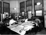 (6698) Classrooms, Interiors, Old Main, 1931