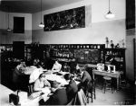 (6702) Classrooms, Interiors, Old Main, 1935