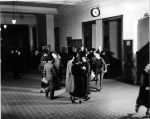 (6708) Students, Interiors, Old Main, 1936
