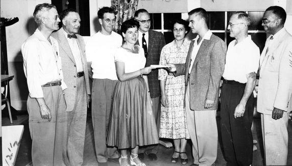 (7187) Elinor Glenn, Local 347, California, 1956