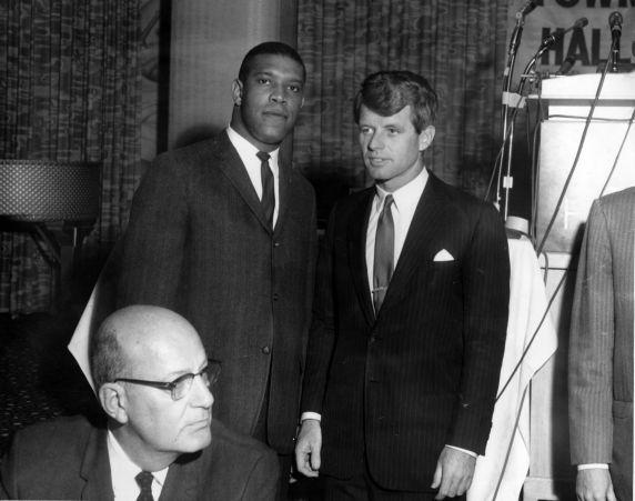 (7272) Local 347, Bill Greene, Robert F. Kennedy, Los Angeles, 1967