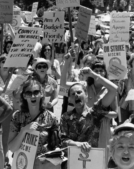 (7501) Pay equity strike, San Jose, CA