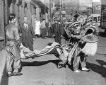 (7821) Ethnic Communities, Chinese, Celebrations, Chinatown, Detroit, 1943