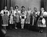 (79677) Ethnic Communities, Czechoslovakian, Costumes, 1933