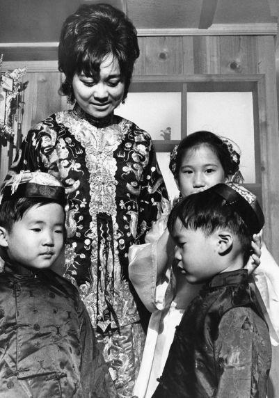 (79687) Ethnic Communities, Chinese, Costume,1972