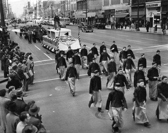 (79738) Ethnic Communities, Chinese, Celebrations, 1941
