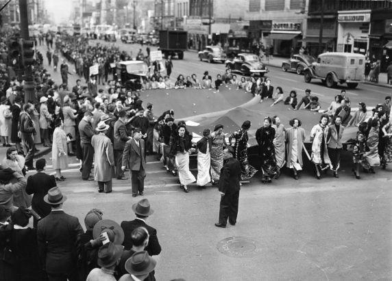 (79739) Ethnic Communities, Chinese, Celebrations, 1941