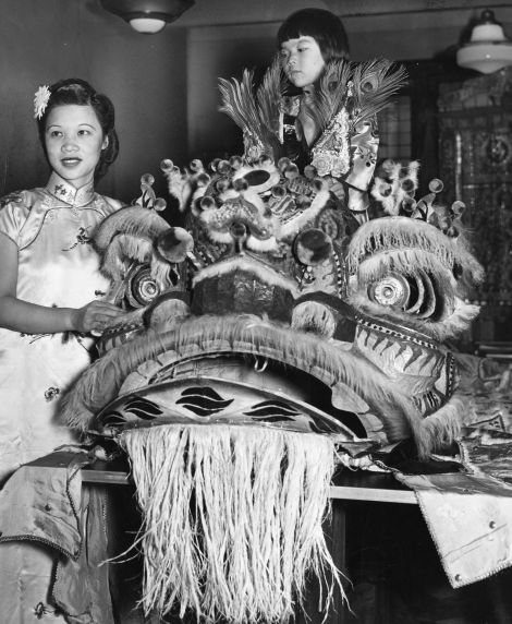 (79742) Ethnic Communities, Chinese, Celebrations, 1941