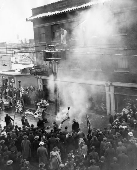 (79743) Ethnic Communities, Chinese, Celebrations, 1942