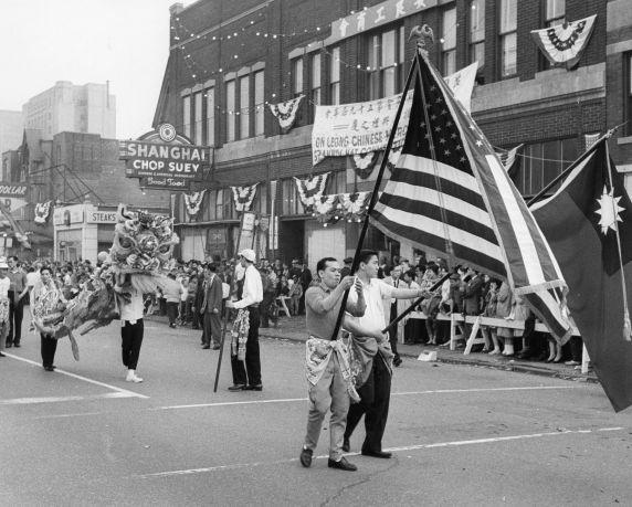 (79744) Ethnic Communities, Chinese, Celebrations, 1963