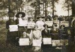 (27805) IWW, Lawrence Strike, Demonstration, Ettor, Giovannitti, 1912