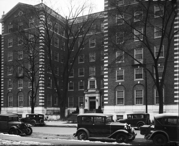 (30256) Grace Hospital, Newberry Hall, Detroit, 1930