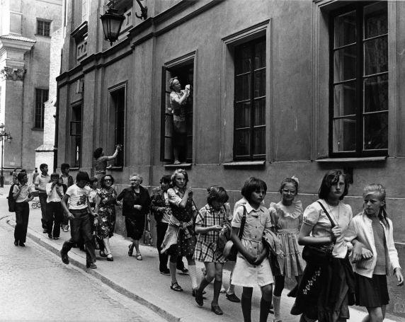 (9154) Children, Warsaw, Poland, 1987