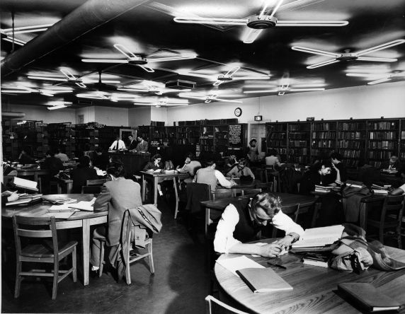 Wayne State Library Room
