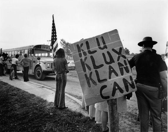 (9801) Demonstrations, Segregation, Busing, Pontiac, Michigan, 1971