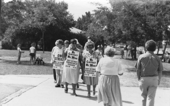 (11781) Strike, East Detroit Federation of Teachers, Local 698