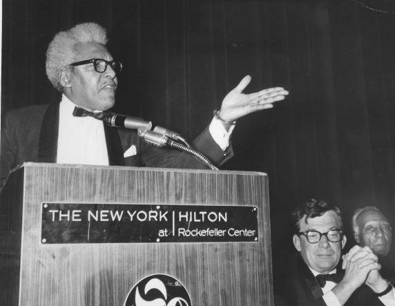 (12118) Bayard Rustin Speaking in New York