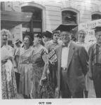 (12128) New York Teachers Guild demonstration