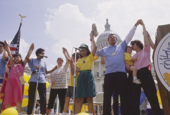 (36006) AFSCME, Children's Day on the Hill, 1989