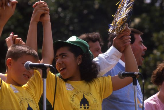 (36007) AFSCME, Children's Day on the Hill, 1989