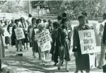 (28331) CLUW; Apartheid protests