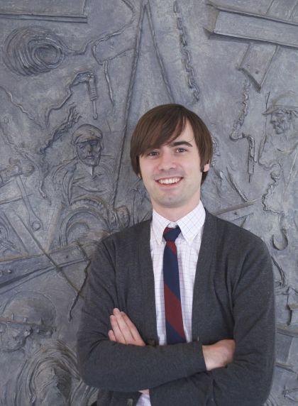(32414) Gavin Strassel, Service Employee International Union Archivist (SEIU), Reuther Library Staff, 2014